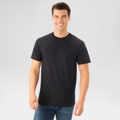 5b1df4b5c Fruit of the Loom Select™ Men's Short Sleeve T-Shirt – Black ...