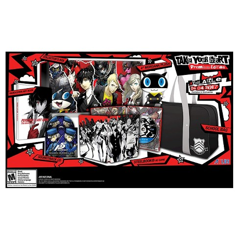"Persona 5 ""Take Your Heart"" Premium Edition PlayStation 4 - image 1 of 10"