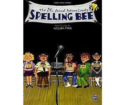 25th Annual Putnam County Spelling Bee -  (Paperback) - image 1 of 1