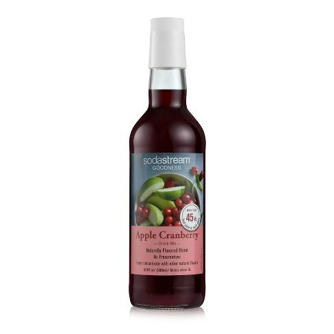 SodaStream 16.9oz Goodness Apple Cranberry Drink Mix - image 1 of 3
