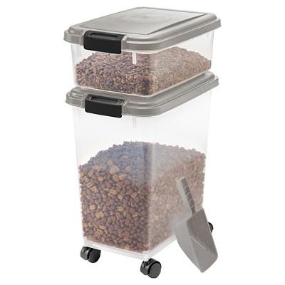 Ordinaire IRIS Airtight Pet Food Storage Set
