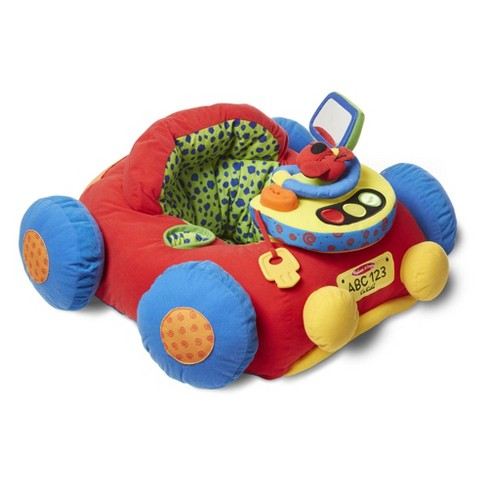 Melissa & Doug Beep-Beep and Play Activity Center Baby Toy - image 1 of 4