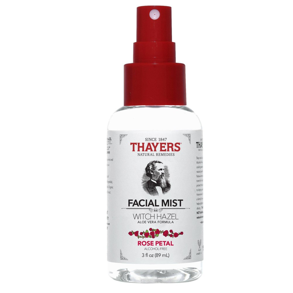 Image of Thayers Natural Remedies Rose Petal Facial Mist - 3 fl oz