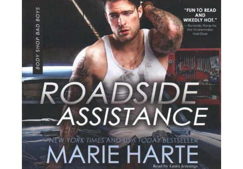 Roadside Assistance -  (Body Shop Bad Boys) by Marie Harte (MP3-CD) - image 1 of 1