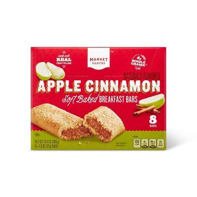 Apple Cinnamon Soft baked Breakfast Bars - 8ct - Market Pantry™