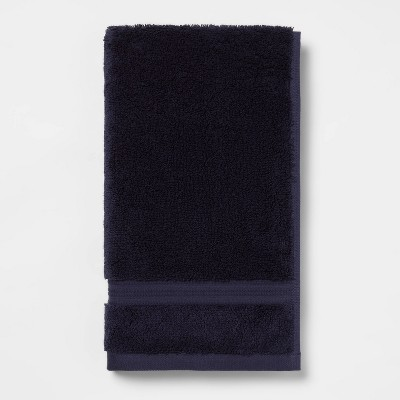 Antimicrobial Hand Towel Navy - Total Fresh