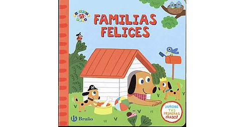 Familias felices / Happy Families (Hardcover) - image 1 of 1