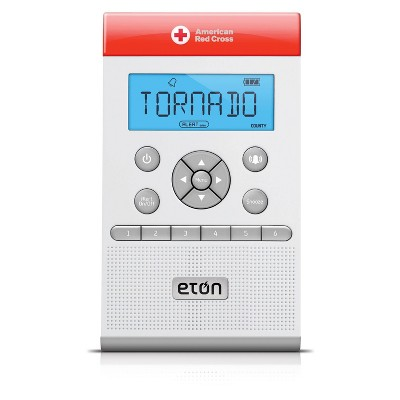 American Red Cross ZoneGuard Weather and Clock Radio