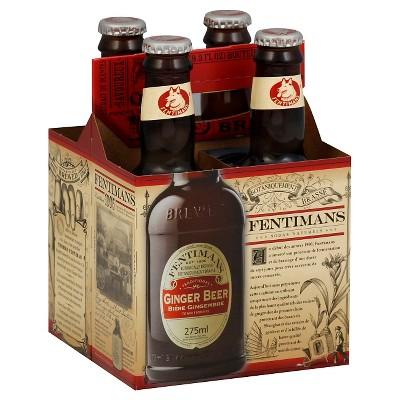 Fentimans Ginger Beer - 4pk/9.3 fl oz Glass Bottles