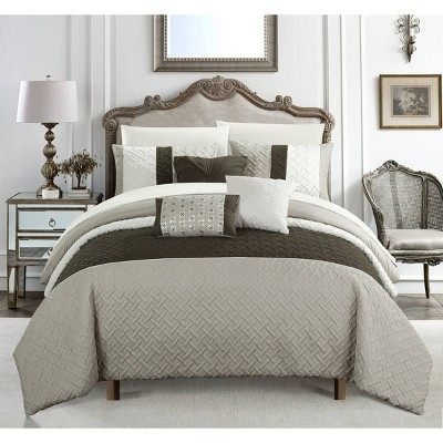 Arza Bed in a Bag Comforter Set - Chic Home Design