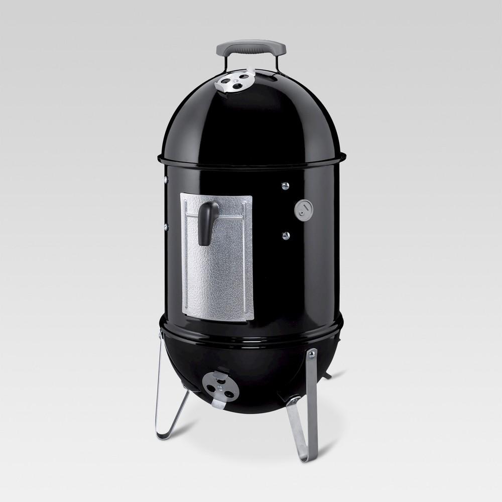 Weber 18 721001 Smokey Mountain Cooker Smoker, Black