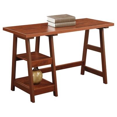 Trestle Desk Cherry - Breighton Home : Target