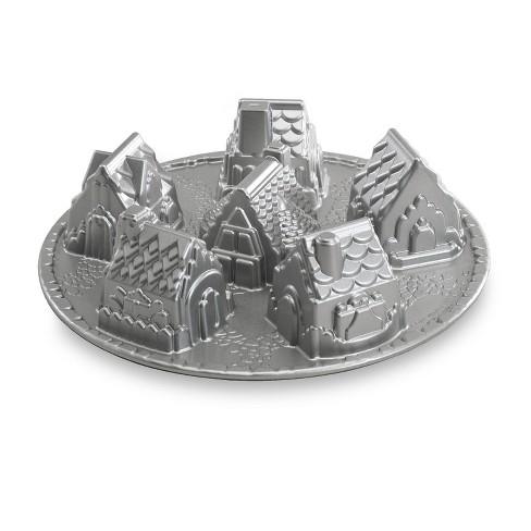 Nordic Ware Platinum Cozy Village Baking Pan - image 1 of 3
