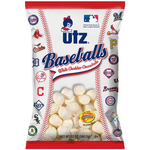 Utz Baseballs White Cheddar Cheeseballs - 12oz - image 1 of 1