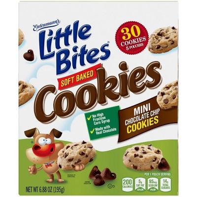 Entenmann's Chocolate Chip Cookie Little Bites - 5ct/8.25oz