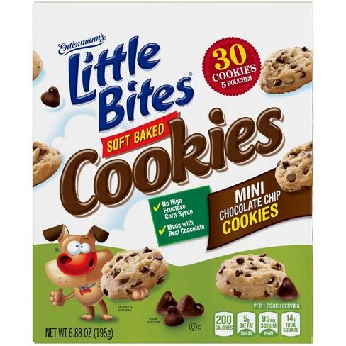 Entenmann's Chocolate Chip Cookie Little Bites - 5ct/8.25oz - image 1 of 4