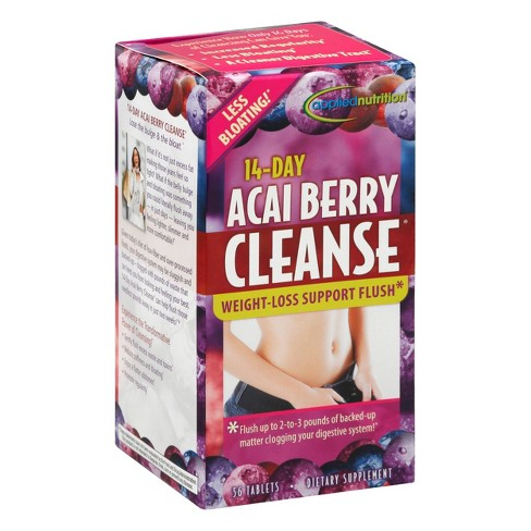 Applied Nutrition 14-Day Cleanse Dietary Supplement Tablets - Acai Berry - 56ct - image 1 of 4