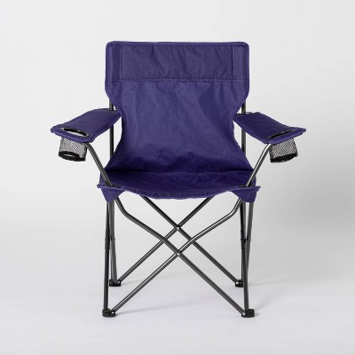Adult Novelty Quad Chair Solid Navy - Sun Squad™