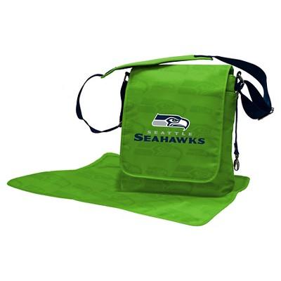 Seattle Seahawks LilFan Diaper Messenger Bag