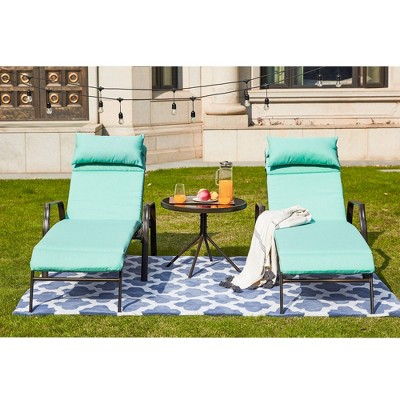 3pc Lounge Patio Set - Patio Festival