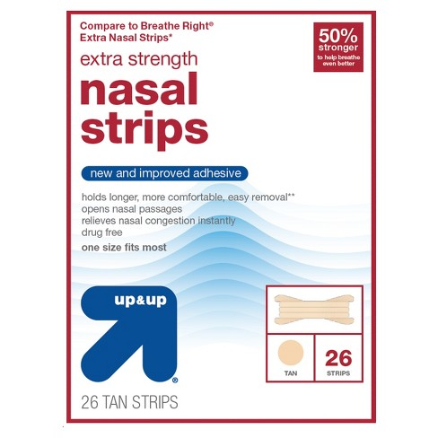 Extra Strength Large Nasal Strips- 26ct - Up&Up™ (Compare to Breathe Right Extra Nasal Strips) - image 1 of 1