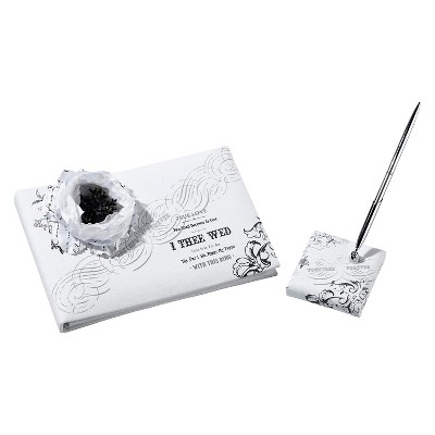 True Love Guest Book with Pen Set