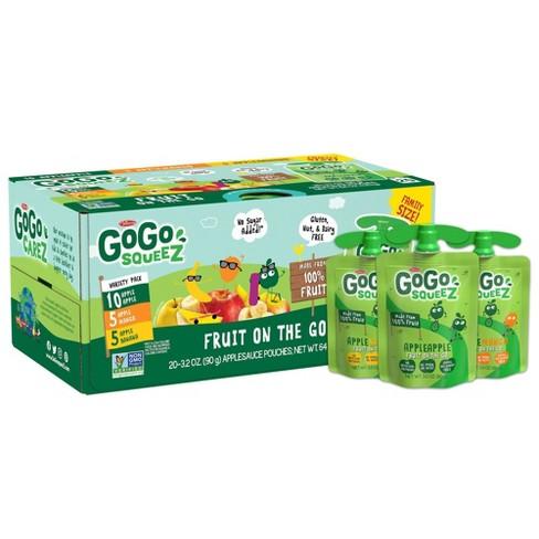 GoGo squeeZ Applesauce, Variety Apple/Banana/Mango - 3.2oz/20ct - image 1 of 4