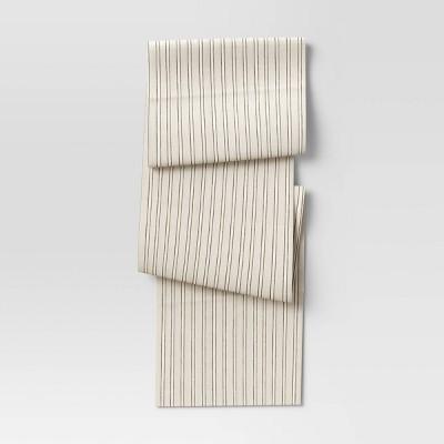 Cotton Striped Table Runner - Threshold™