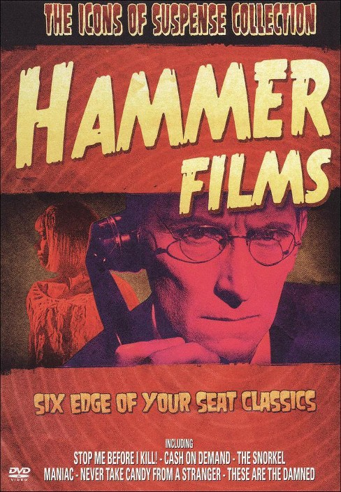 Icons of suspense:Hammer films (DVD) - image 1 of 1