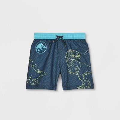 Toddler Boys' Jurassic World Swim Trunks - Blue