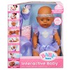 BABY Born Interactive Doll - Purple Outfit with Headband - image 3 of 4