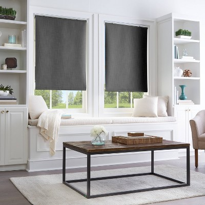 29 x64  Room Darkening Window Shade Panel Black - CHF Industries