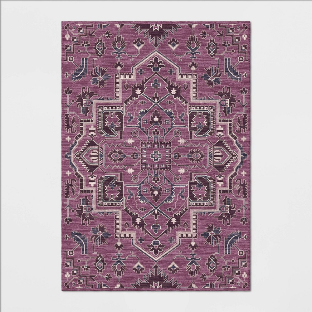 7'X10' Hyssop Jacquard Tufted Area Rug Purple - Opalhouse was $349.99 now $174.99 (50.0% off)