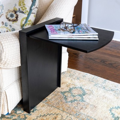 Andreas Folding Side Table Black - Décor Therapy
