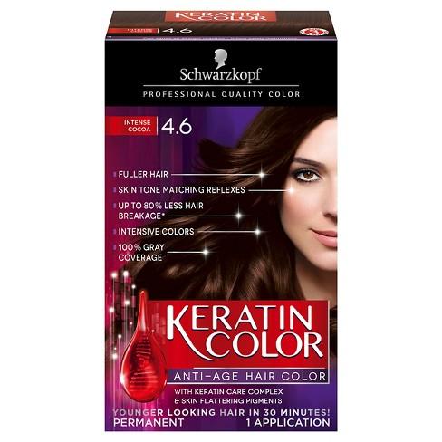 schwarzkopf keratin color anti age hair color target
