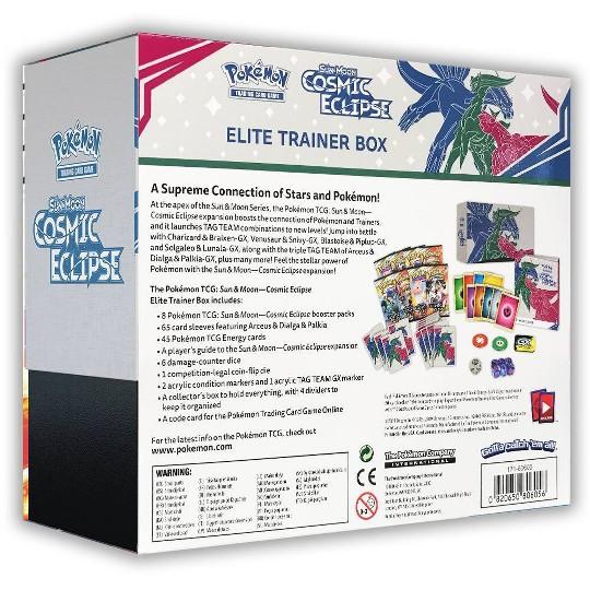 Pokemon TCG: Sun Moon-Cosmic Eclipse- Elite Trainer Box, Kids Unisex image number null
