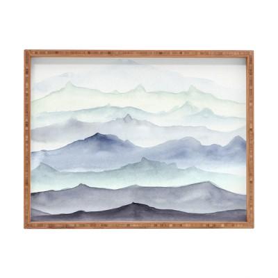 Wonder Forest Mountain Mist Tray (18 )- Deny Designs