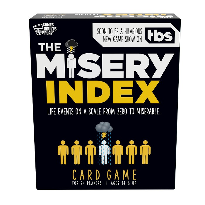Games Adults Play The Misery Index Card Game - image 1 of 5
