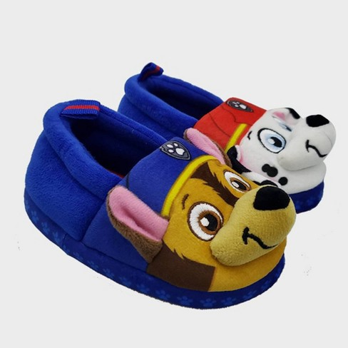 Boys' PAW Patrol Slide Slippers - Blue - image 1 of 4