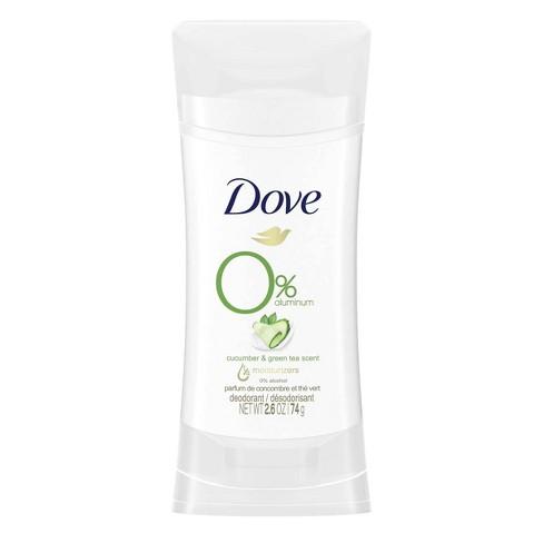 Dove 0% Aluminum Cucumber & Green Tea Deodorant Stick - image 1 of 4