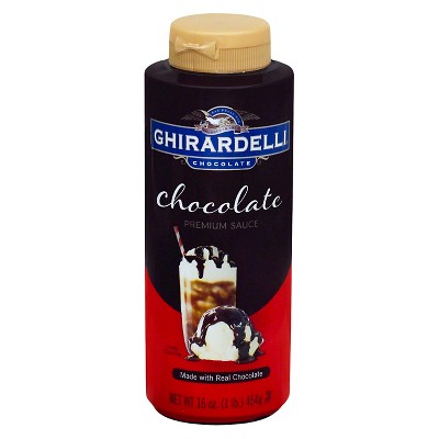Honeys & Syrups: Ghirardelli