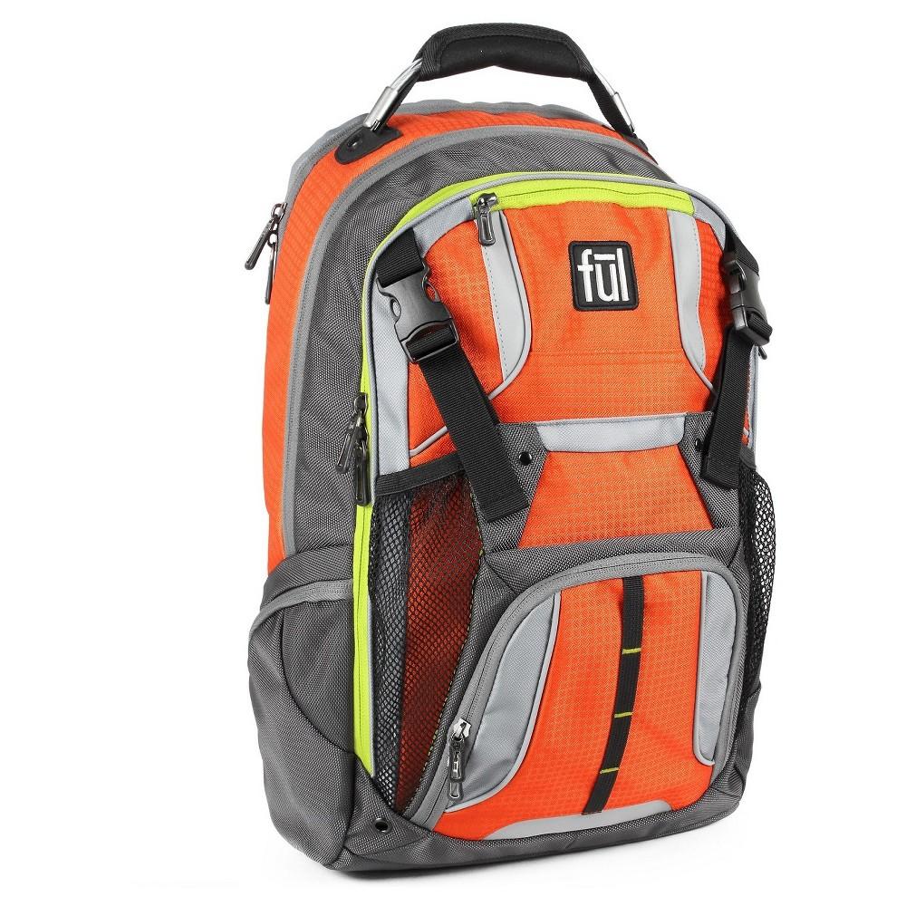 Ful 19 Hexar Backpack - Orange, Orange Sorbet