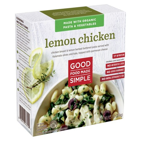 Good Food Made Simple Frozen lemon Chicken - 9.5oz - image 1 of 1