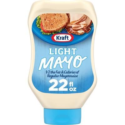 Kraft Light Mayonnaise Squeeze Bottle - 22oz