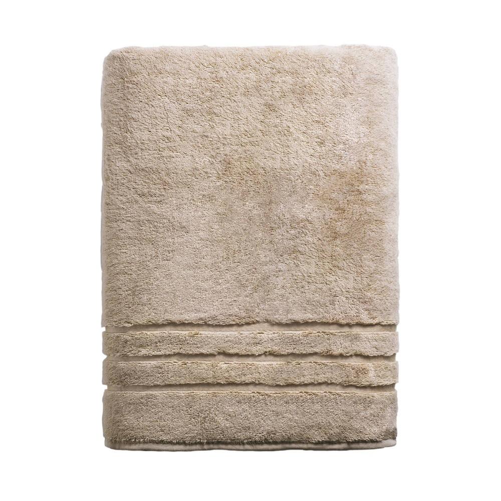 "Image of ""70""""x40"""" Rayon from Bamboo Bath Sheet Stone - Cariloha, Grey"""