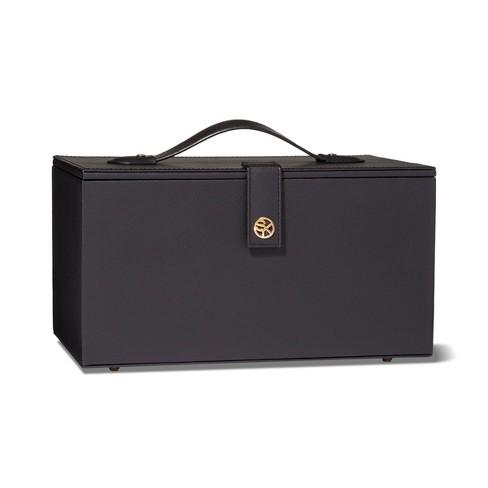 84fd1106a9b8 Sonia Kashuk™ Hard Top Makeup Storage Train Case- Black   Target
