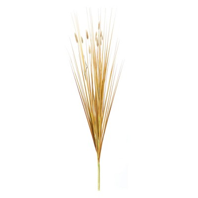 """Melrose 35"""" Brown Foxtail and Grass Bush Artificial Christmas Spray"""