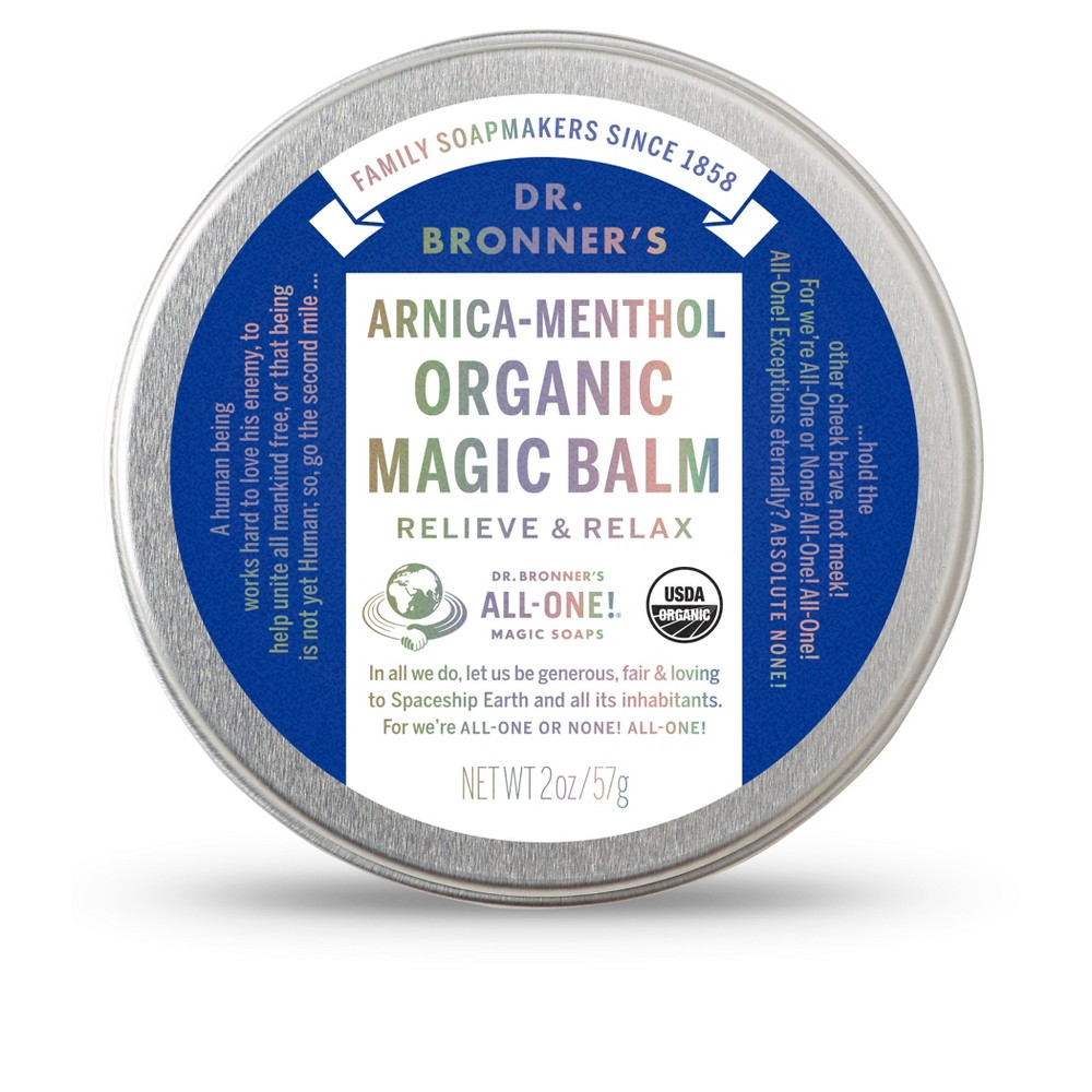 Image of Dr. Bronner's Arnica Menthol Magic Balm - 2oz