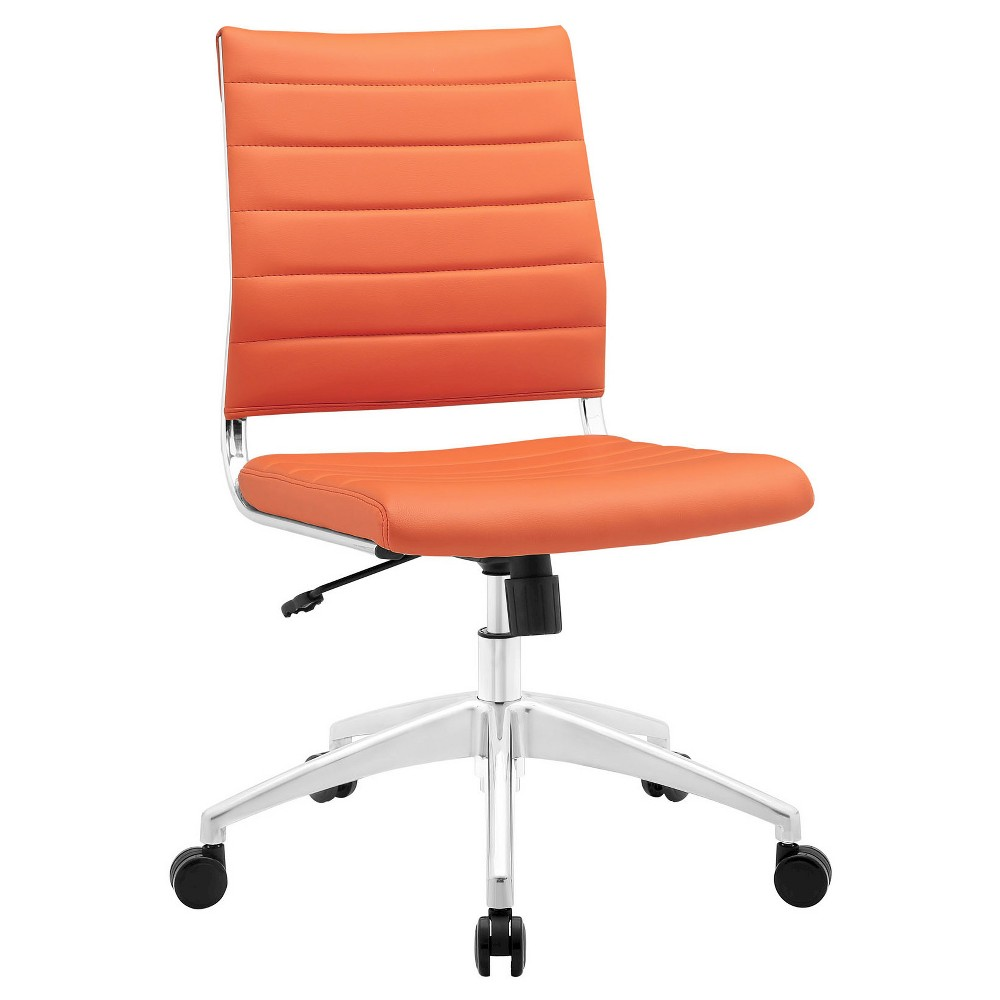 Office Chair Modway Bright Orange