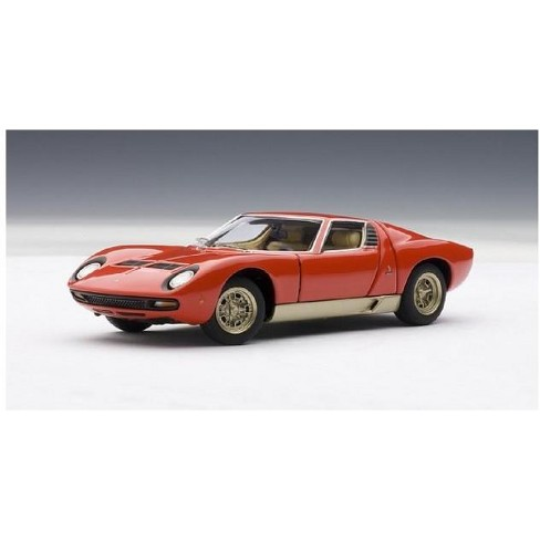 Lamborghini Miura Sv Red 1 43 Diecast Model Car By Autoart Target